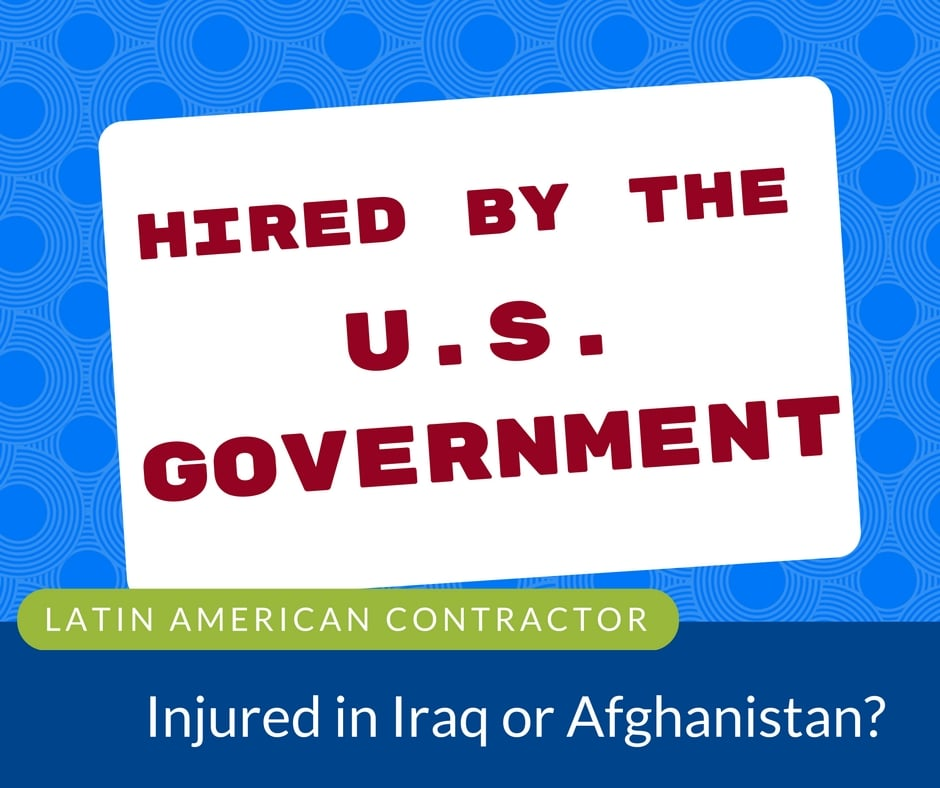 latin american contractor injured iraq