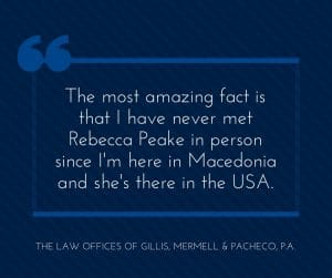 The most amazing fact about my DBA lawyer