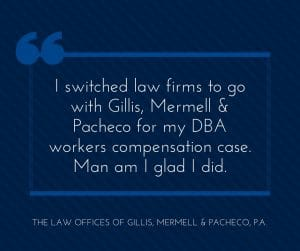 switching law firms defense base act lawyers