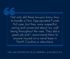 Best Lawyer for Injuries on Naval Bases in North Carolina