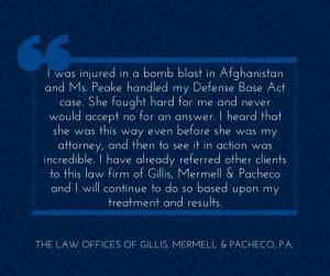 Top Texas Defense Base Act Lawyers with Compassion and Determination
