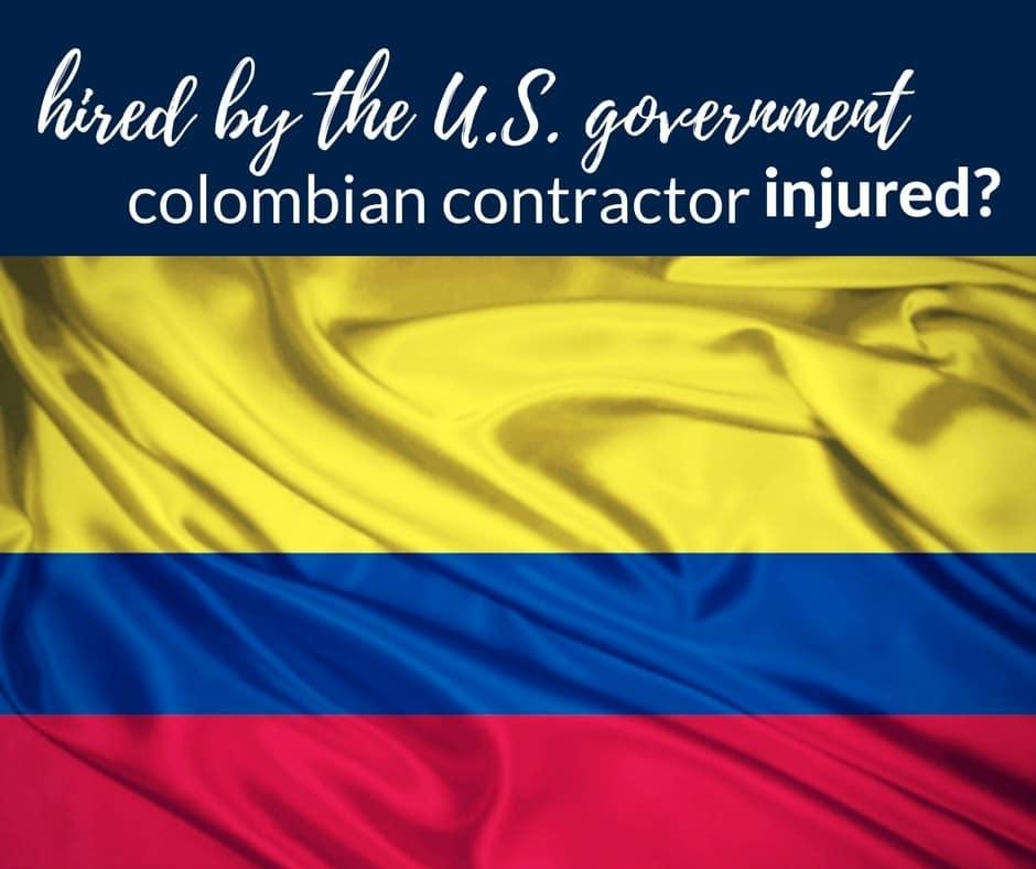 injured colombian contractor working us government 1