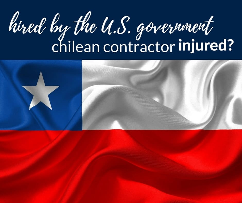 injured chilean contractor working usa government
