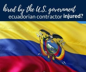 Ecuadorian Contractor Hired by U.S. to Work in Iraq or Afghanistan