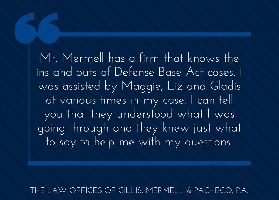 Quality Defense Base Act Lawyers Representing Contractors Injured Overseas