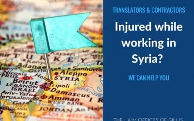 Translators & Contractors Injured While Working in Syria