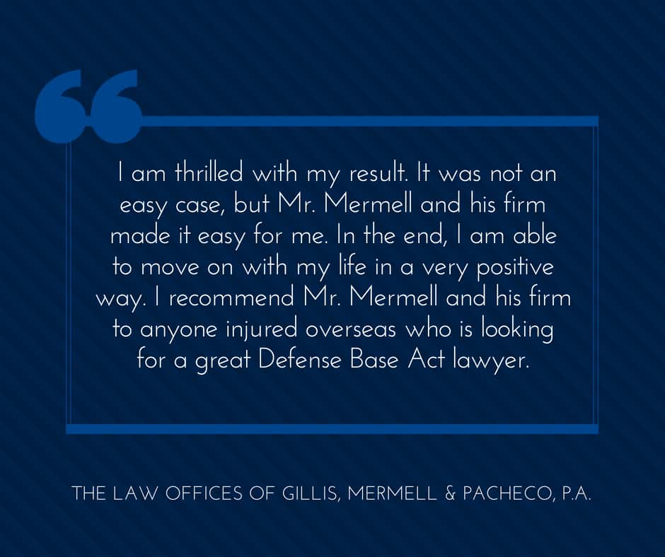 great defense base act lawyer