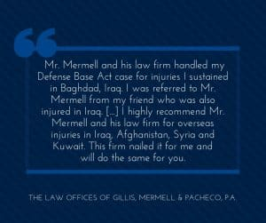 DBA Lawyer Makes It Easy for Workers Injured in Iraq