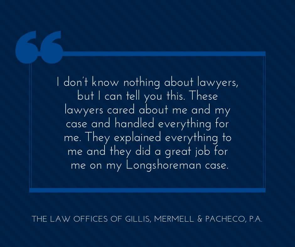 these longshoremen lawyers cared