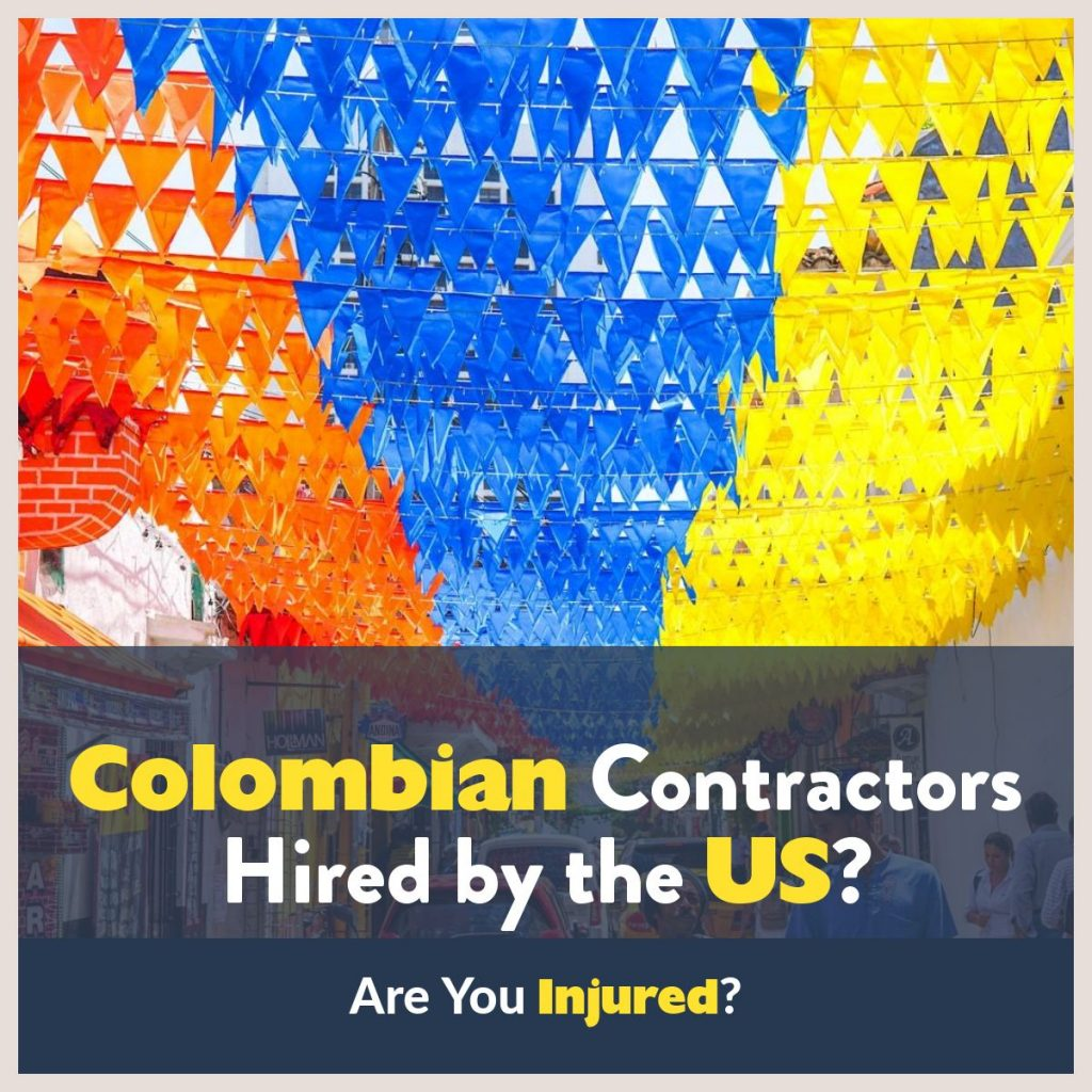 Colombian contractors dba lawyers