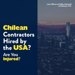Chilean Contractors Hired by USA to Work in Danger Zones