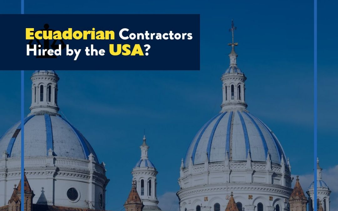 Ecuadorian Contractors Hired by USA to Work in Danger Zones